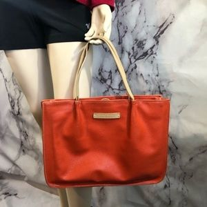 Miu Miu Orange Leather Handbag